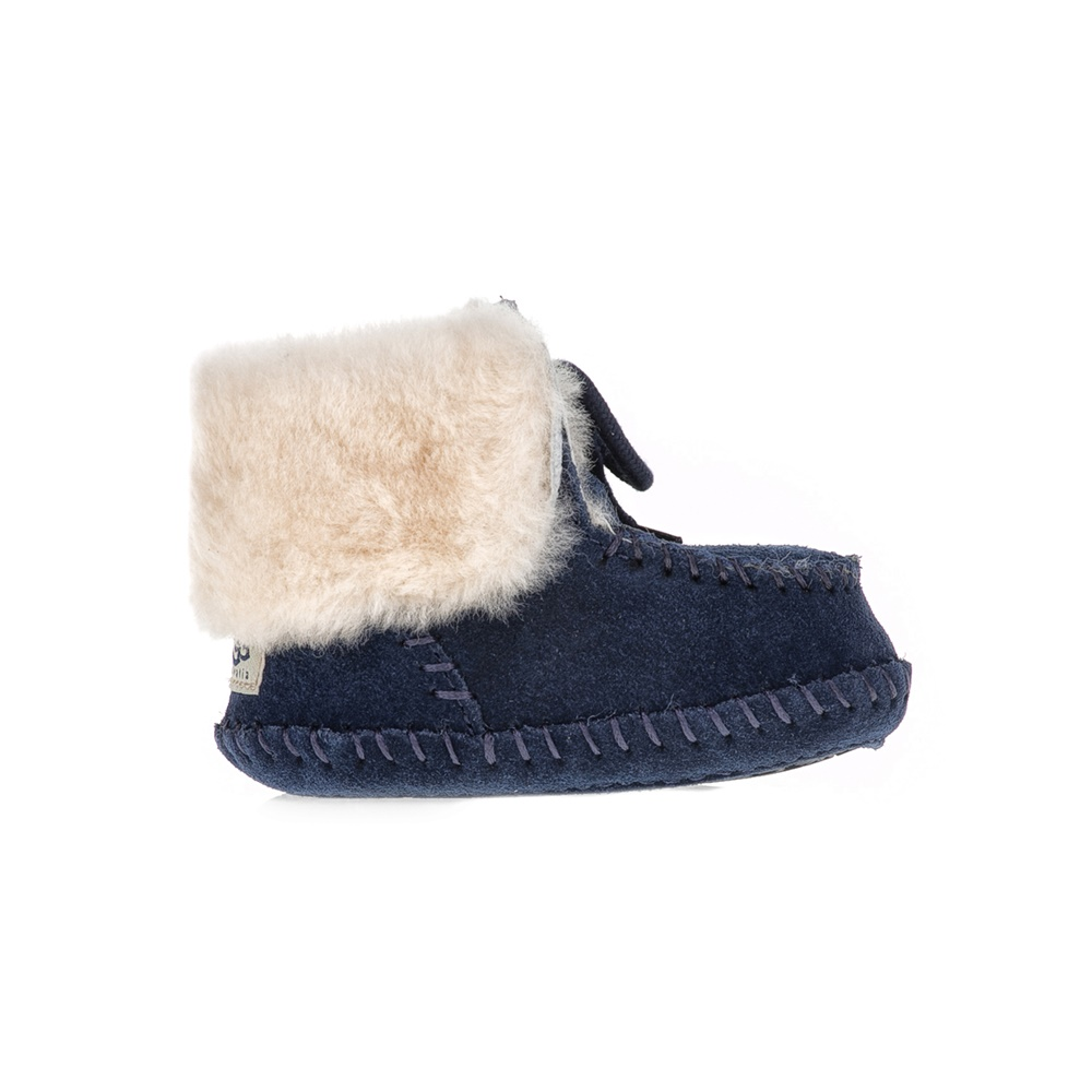 UGG AUSTRALIA - Βρεφικά μποτάκια SPARROW UGG AUSTRALIA μπλε παιδικά baby παπούτσια μπότες μποτάκια