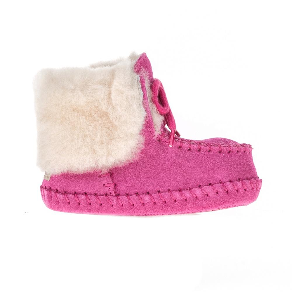 UGG AUSTRALIA - Βρεφικά μποτάκια SPARROW UGG AUSTRALIA ροζ παιδικά baby παπούτσια μπότες μποτάκια
