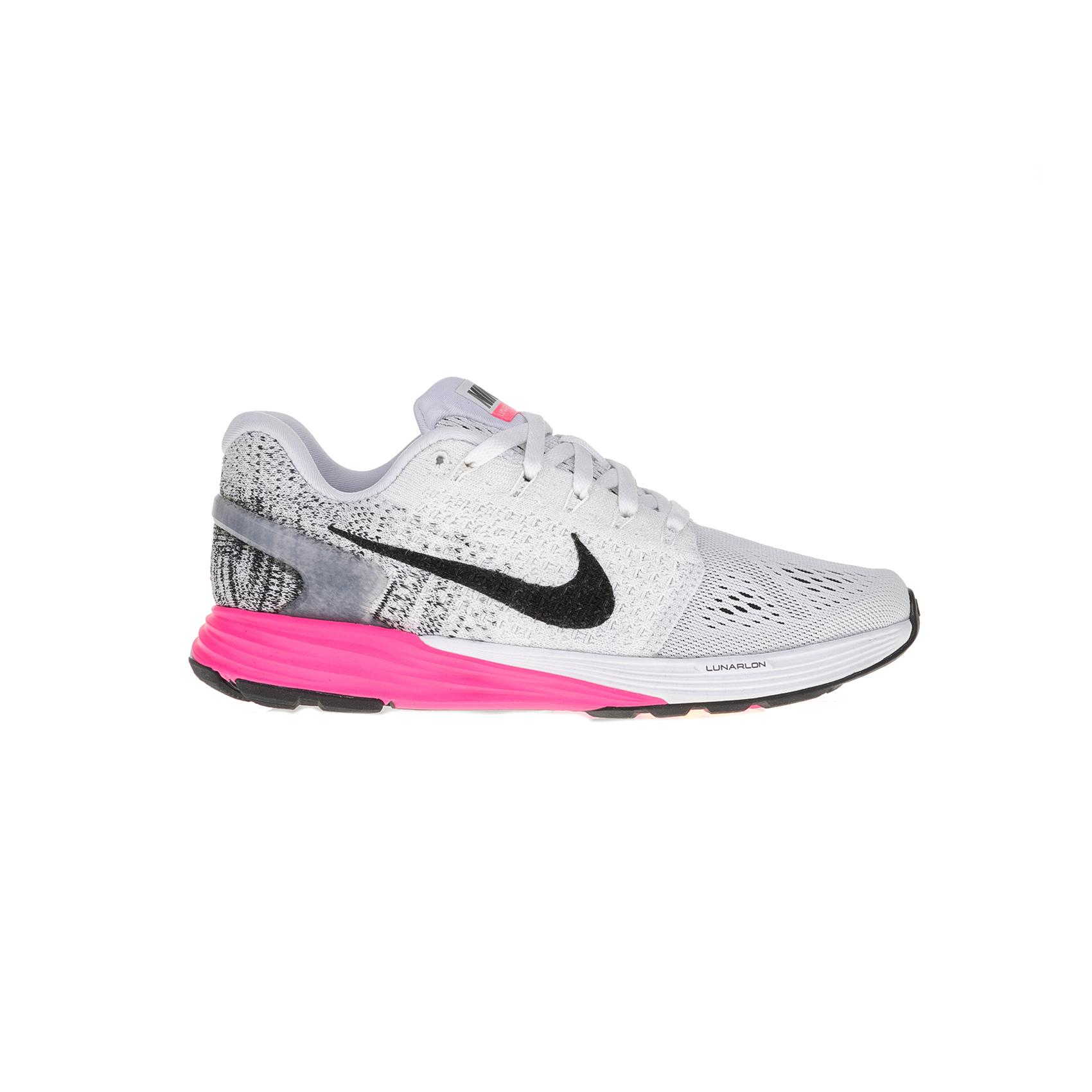 NIKE - Γυναικεία παπούτσια NIKE LUNARGLIDE 7 γκρι-ροζ γυναικεία παπούτσια αθλητικά running