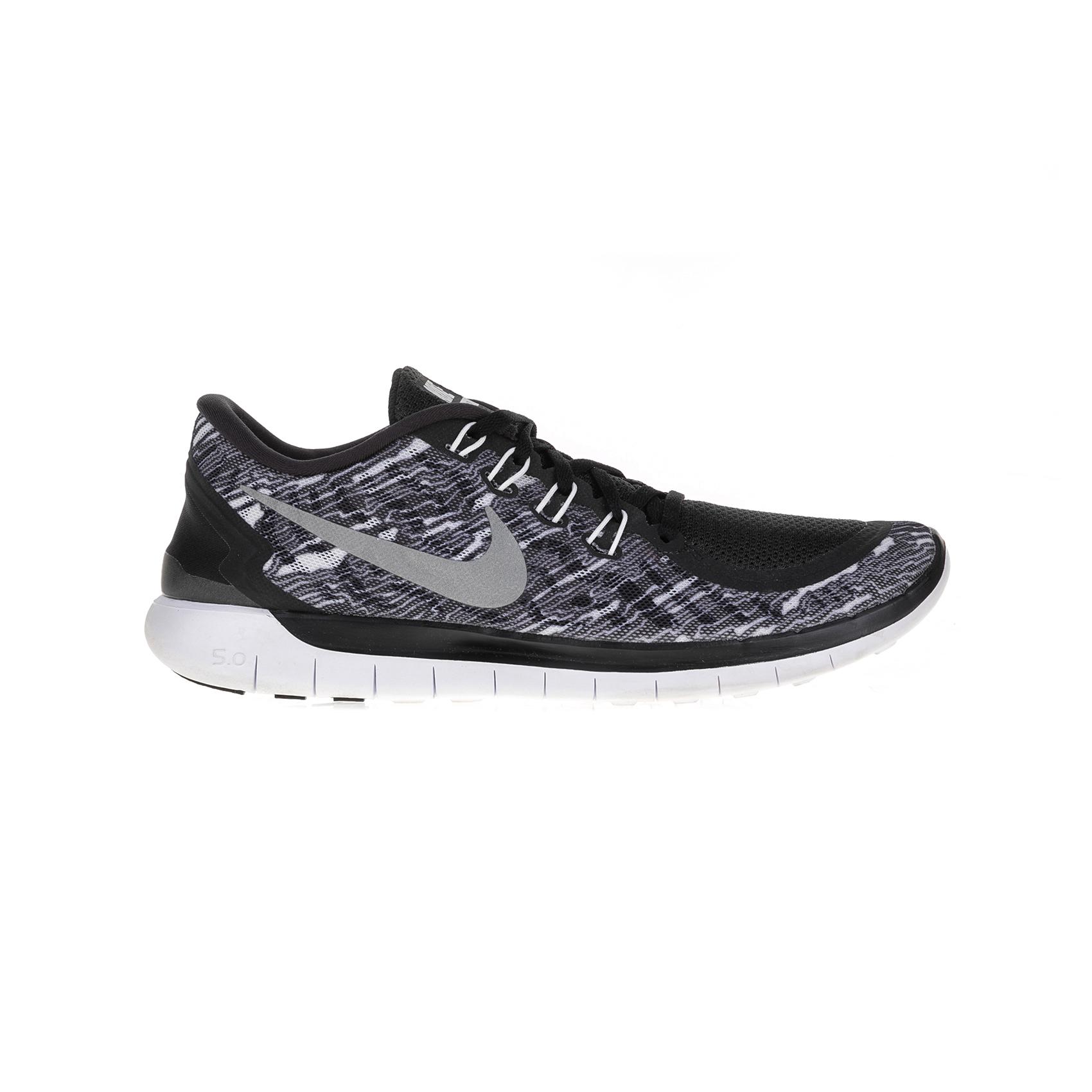 NIKE – Ανσρικά παπούτσια Nike NIKE FREE 5.0 PRINT γκρι-μαύρα
