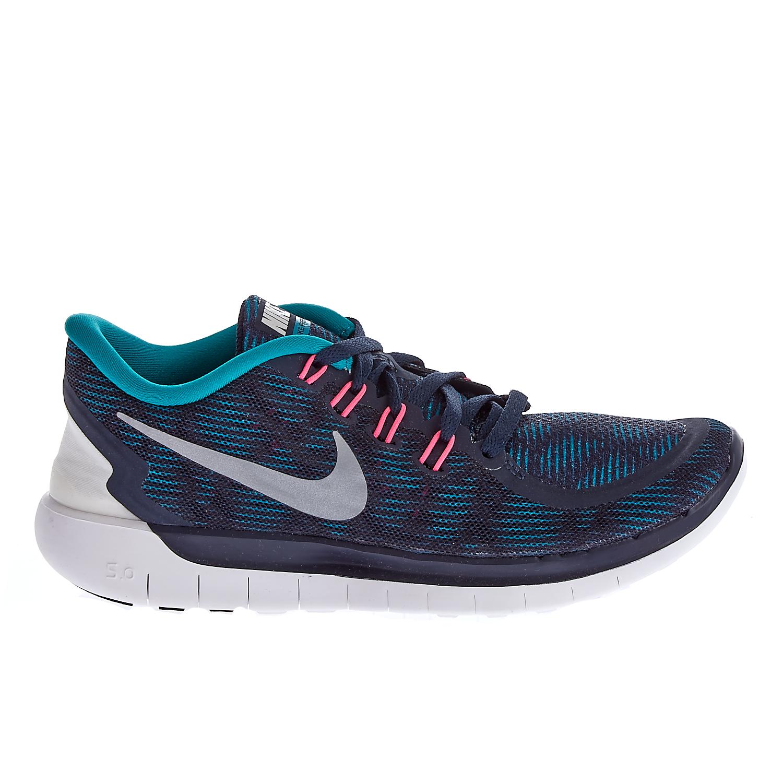NIKE – Γυναικεία παπούτσια Nike NIKE FREE 5.0 PRINT μπλε