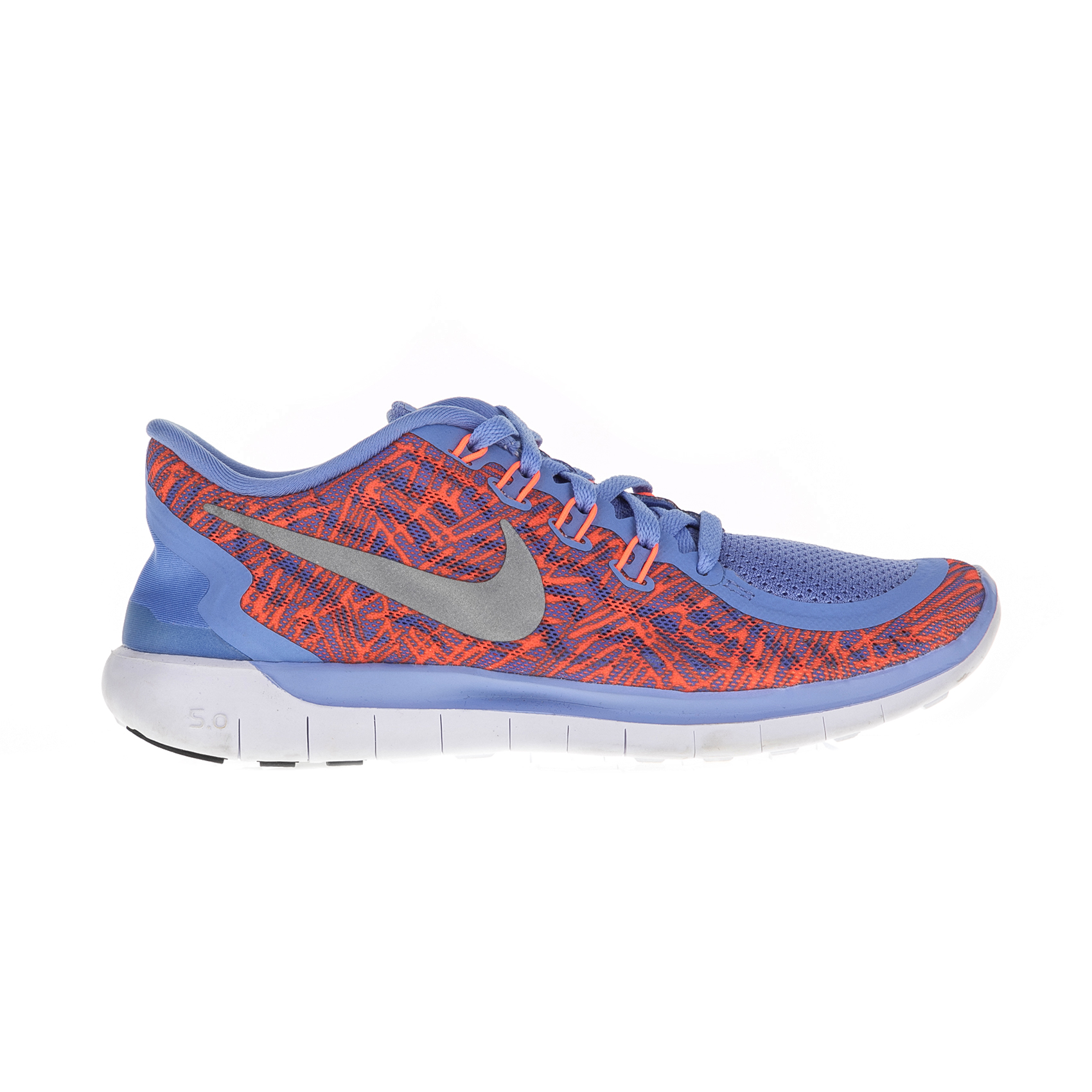 NIKE – Γυναικεία αθλητικά παπούτσια Nike FREE 5.0 PRINT μοβ