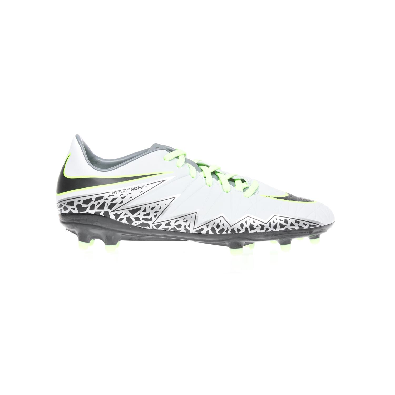 NIKE - Αθλητικά παπούτσια NIKE HYPERVENOM PHELON II FG ασπρόμαυρα ανδρικά παπούτσια αθλητικά football