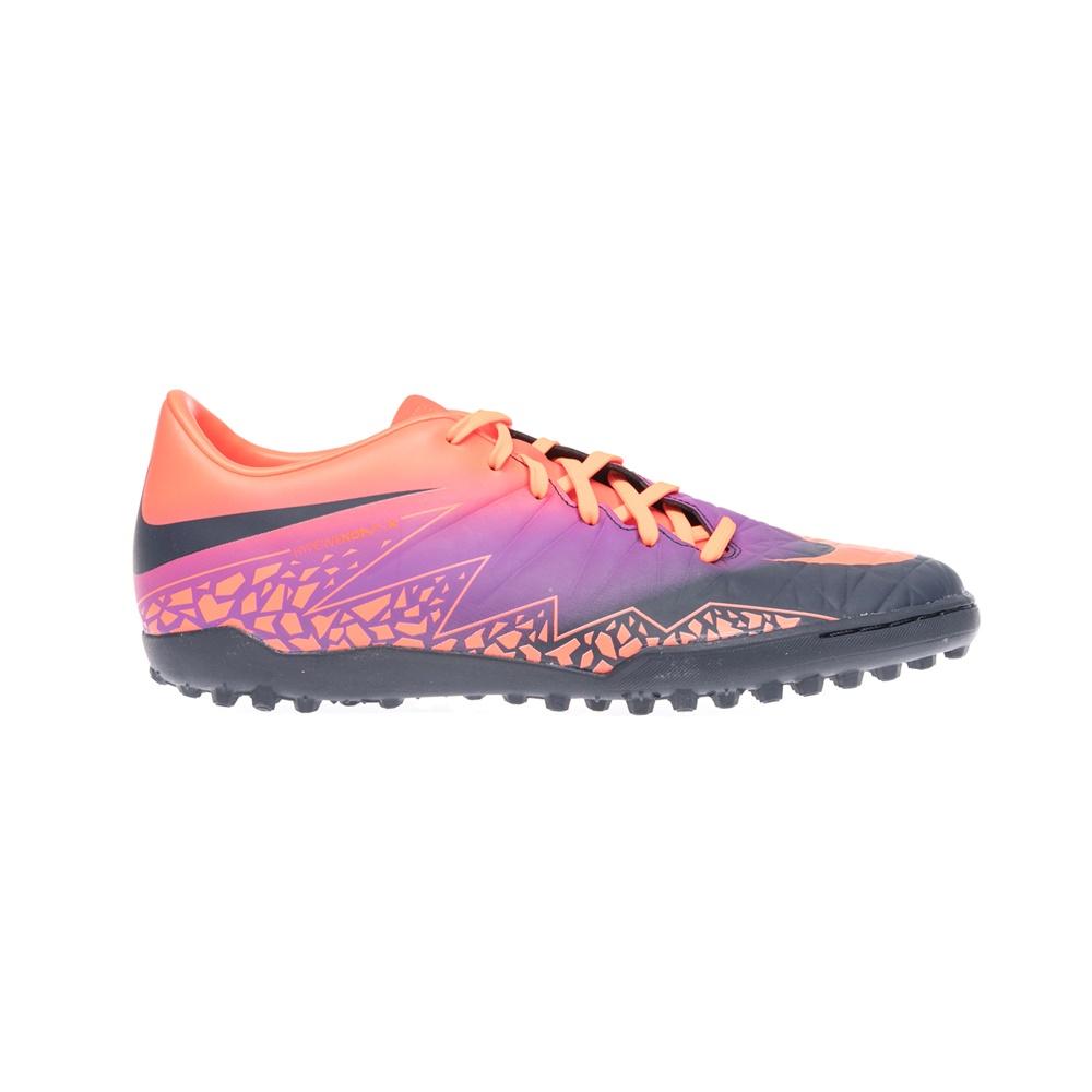 NIKE - Αντρικά παπούτσια NIKE HYPERVENOM PHELON II TF πολύχρωμα ανδρικά παπούτσια αθλητικά football