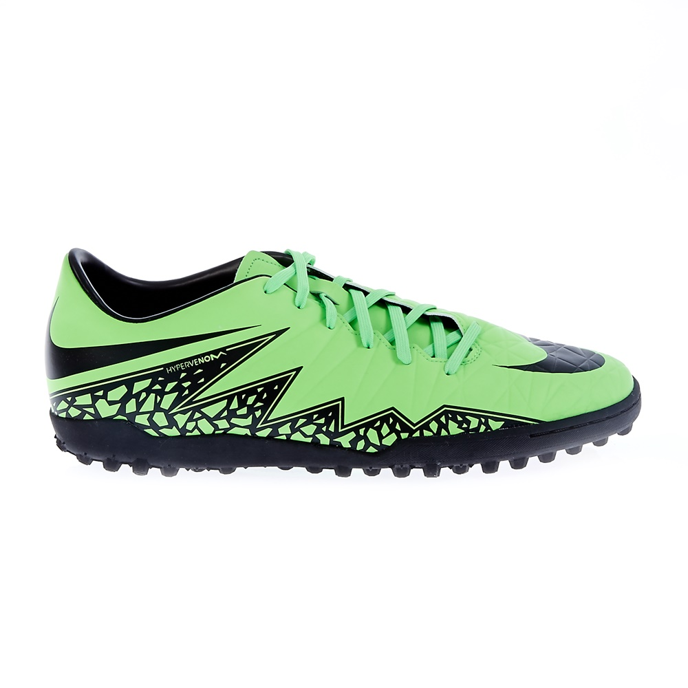 NIKE - Ανδρικά παπούτσια Nike HYPERVENOM PHELON II TF πράσινα ανδρικά παπούτσια αθλητικά football