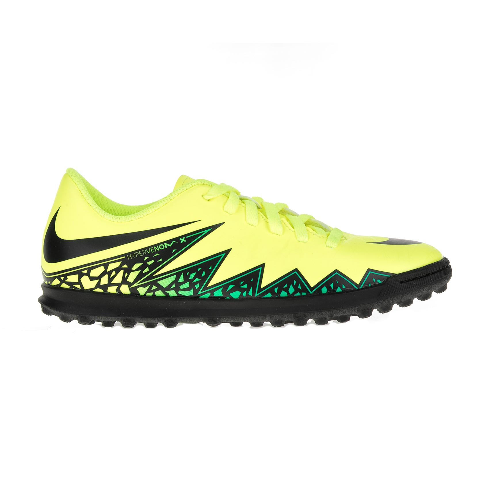 NIKE – Παιδικά παπούτσια ποδοσφαίρου Nike JR HYPERVENOM PHADE II TF κίτρινα