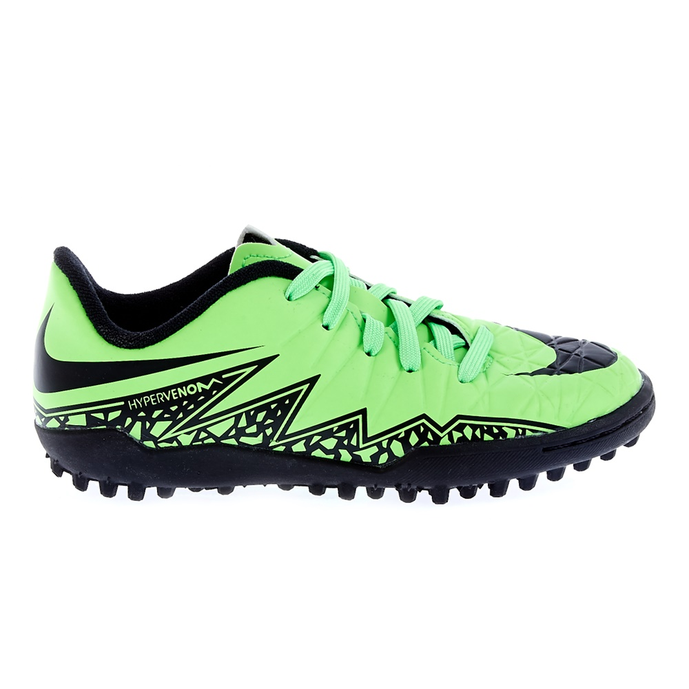 NIKE - Παιδικά παπούτσια Nike JR HYPERVENOM PHELON II TF λαχανί παιδικά boys παπούτσια αθλητικά