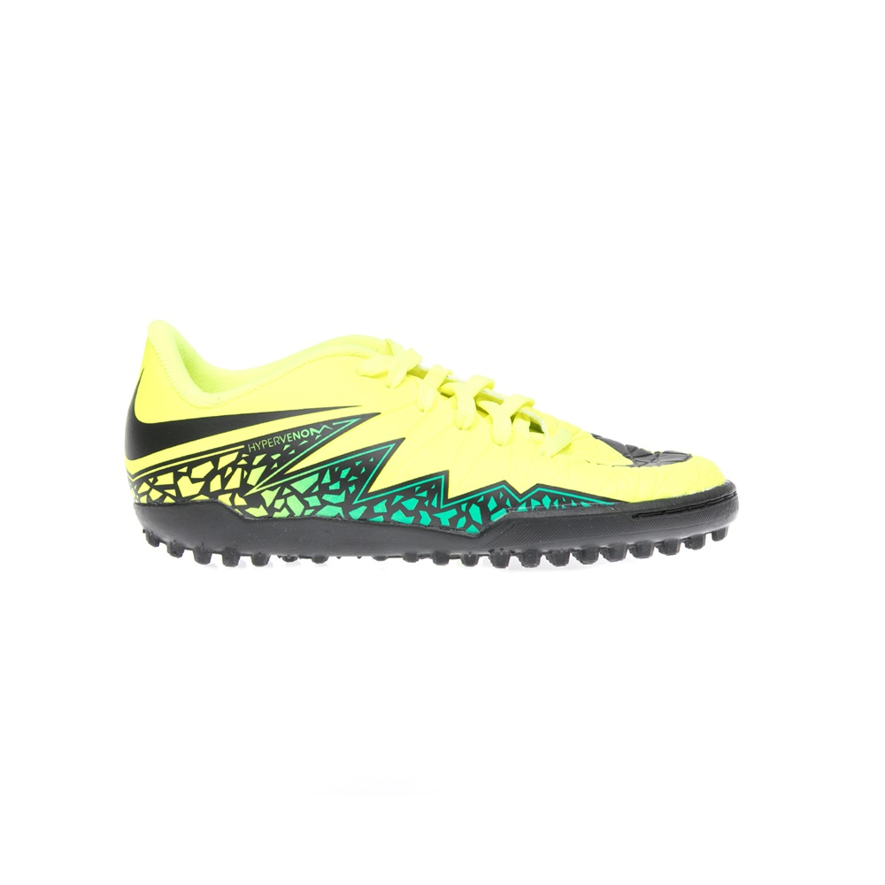 NIKE - Παιδικα παπούτσια NIKE JR HYPERVENOM PHELON II TF κίτρινα παιδικά boys παπούτσια αθλητικά
