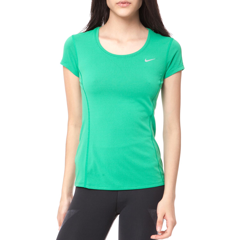 f7652c5b2fd1 NIKE - Γυναικεία μπλούζα NIKE πράσινη