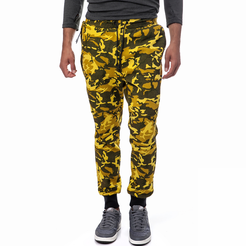 NIKE - Ανδρική φόρμα Nike κίτρινη ανδρικά ρούχα αθλητικά φόρμες