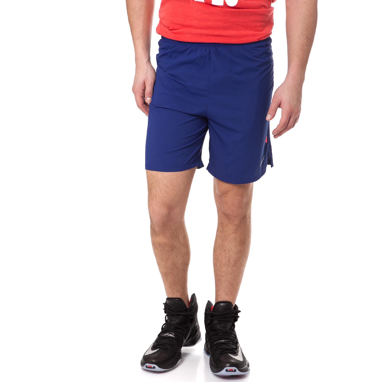 "NIKE - Ανδρικό running σορτς Nike 7"" PHENOM 2-IN-1 σκούρο μπλε ανδρικά ρούχα σορτς βερμούδες αθλητικά"