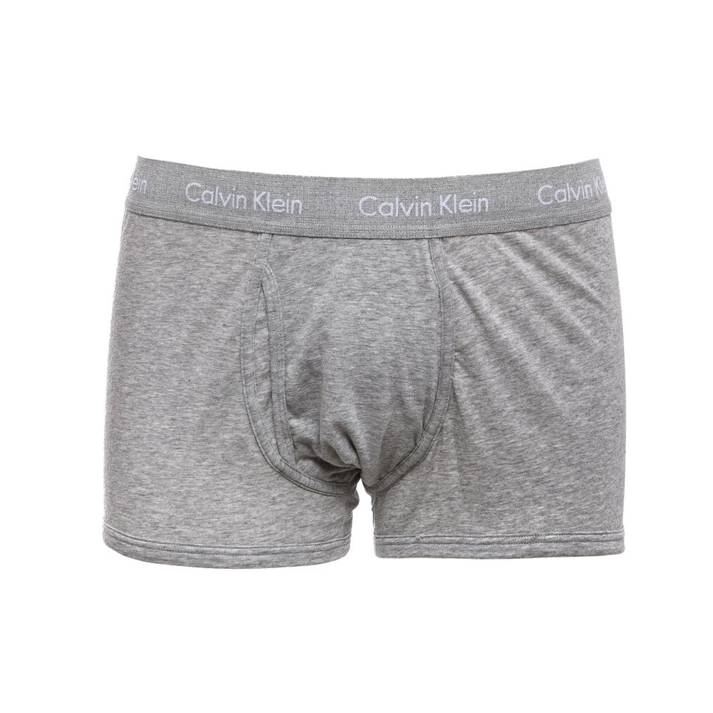 CK UNDERWEAR - Μπόξερ Calvin Klein γκρι ανδρικά ρούχα εσώρουχα