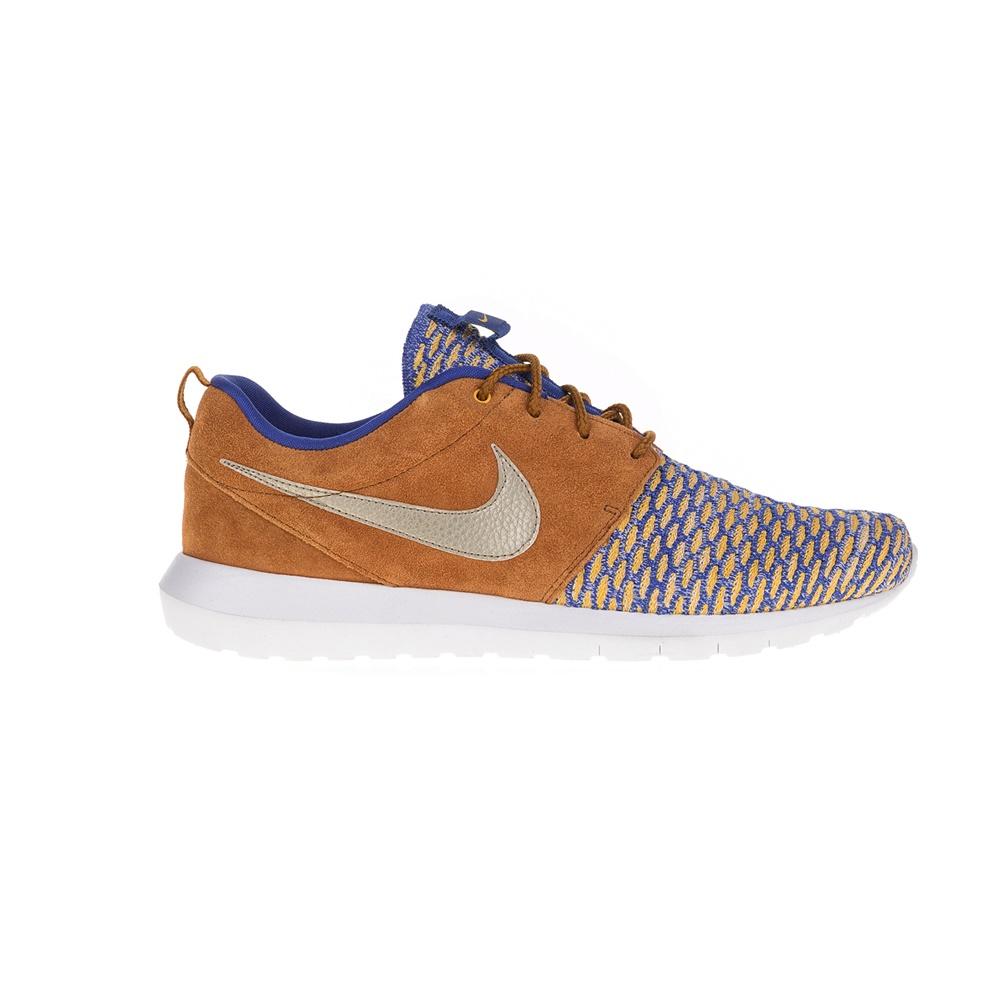 NIKE – Ανδρικά παπούτσια NIKE ROSHE NM FLYKNIT καφέ-μοβ