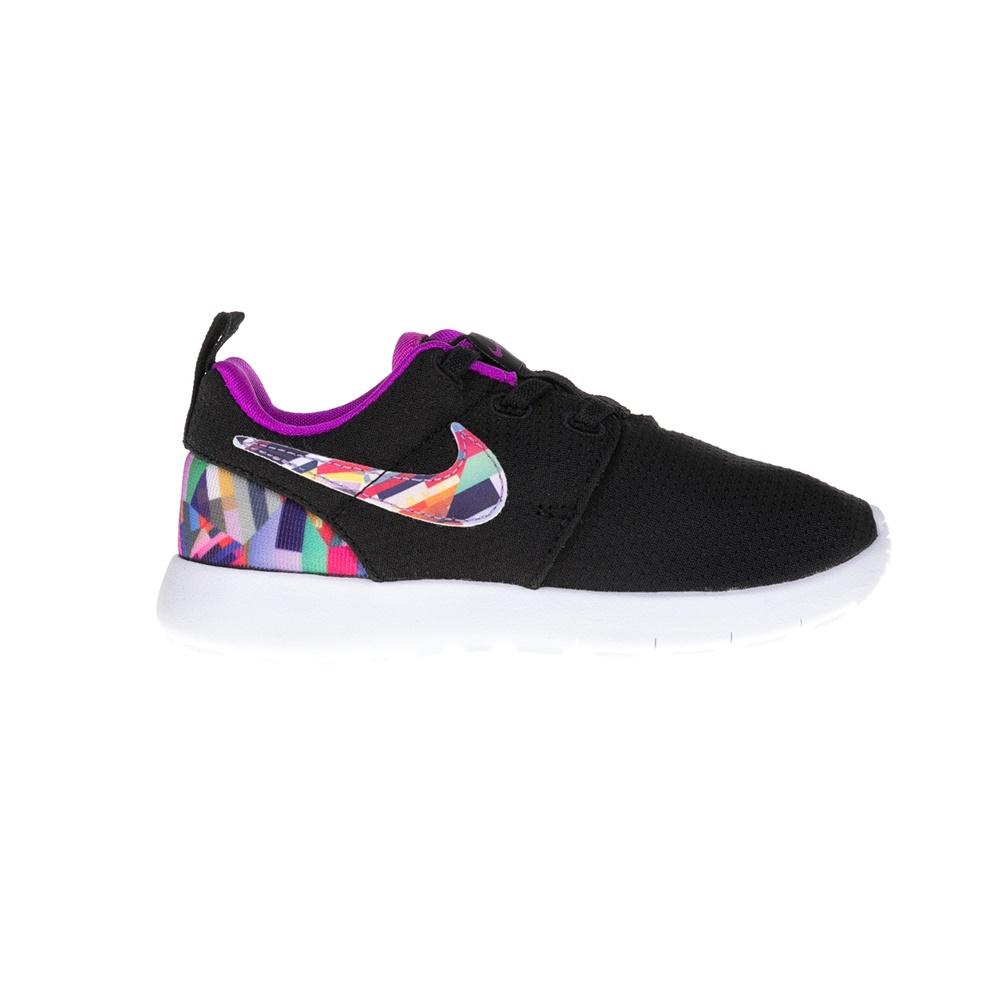 NIKE – Παιδικά παπούτσια NIKE ROSHE ONE PRINT μαύρα
