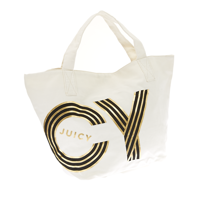 JUICY COUTURE – Γυναικεία τσάντα Juicy Couture ημίλευκη 1409502.0-0090