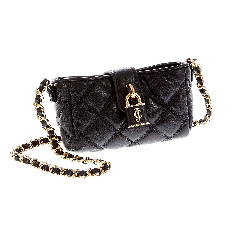 JUICY COUTURE – Γυναικεία τσάντα Juicy Couture μαύρη 1409505.0-0071