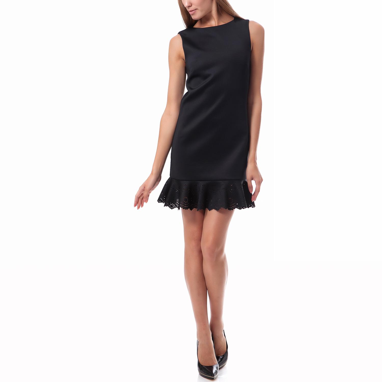 TED BAKER - Γυναικείο φόρεμα Ted Baker μαύρο γυναικεία ρούχα φορέματα μίνι
