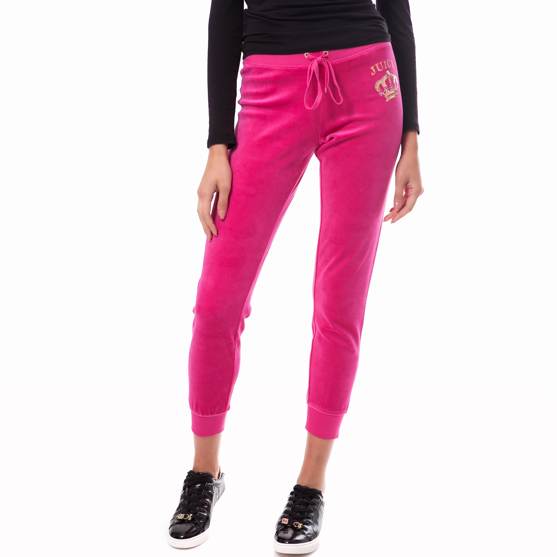JUICY COUTURE - Γυναικείο παντελόνι Juicy Couture φούξια