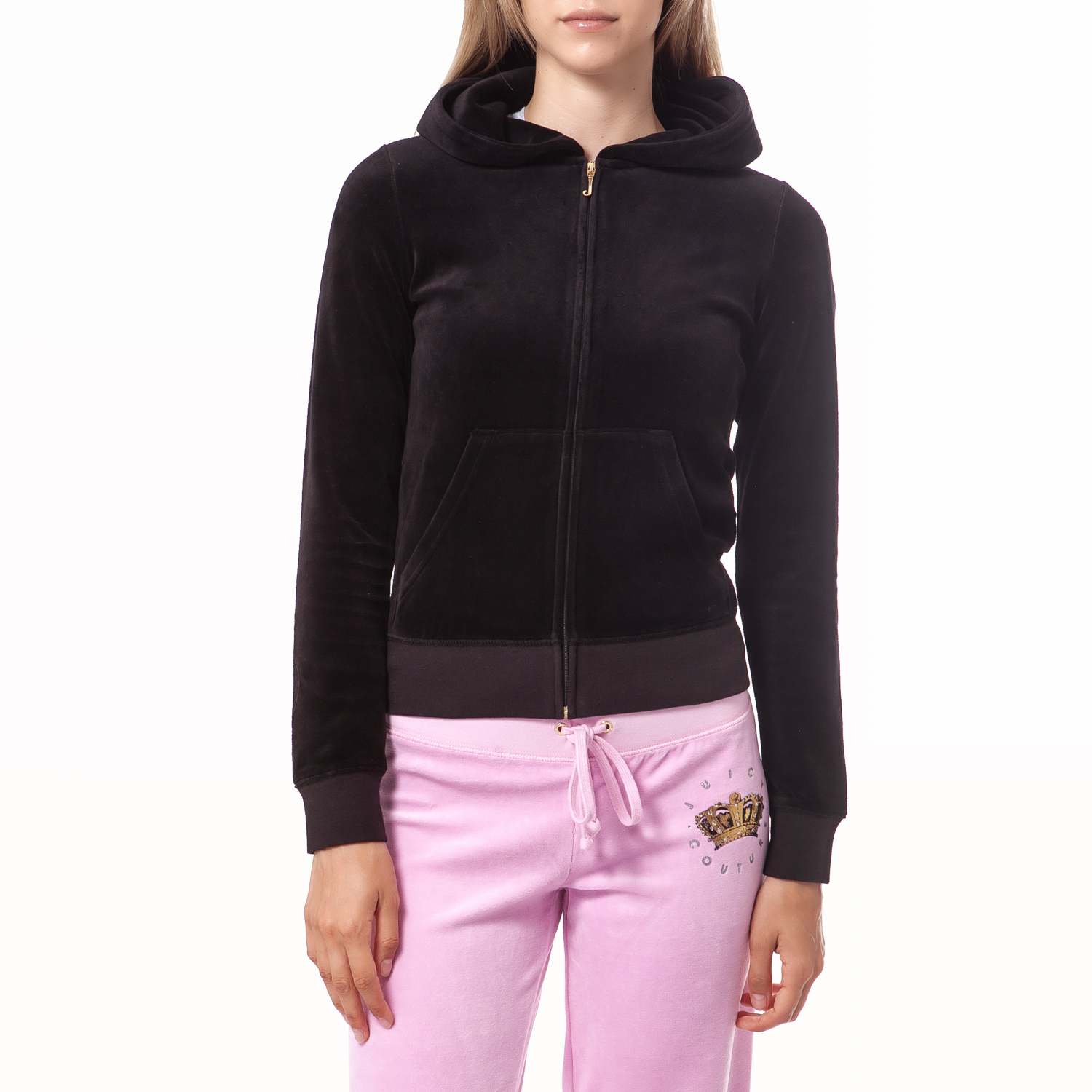 JUICY COUTURE - Γυναικεία ζακέτα Juicy Couture μαύρη