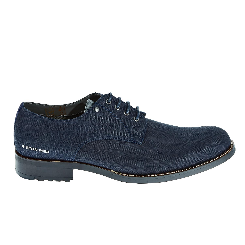"G-STAR RAW - Ανδρικά παπούτσια ""Manor Dryden Denim"" μπλε ανδρικά παπούτσια μοκασίνια loafers"