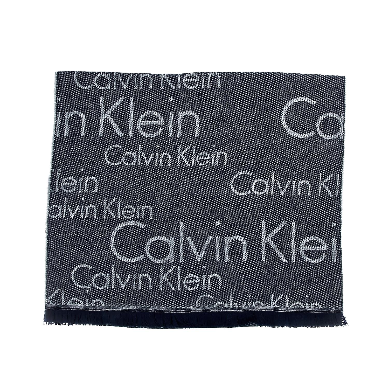 CALVIN KLEIN JEANS - Ανδρικό κασκόλ Calvin Klein Jeans γκρι ανδρικά αξεσουάρ φουλάρια κασκόλ γάντια
