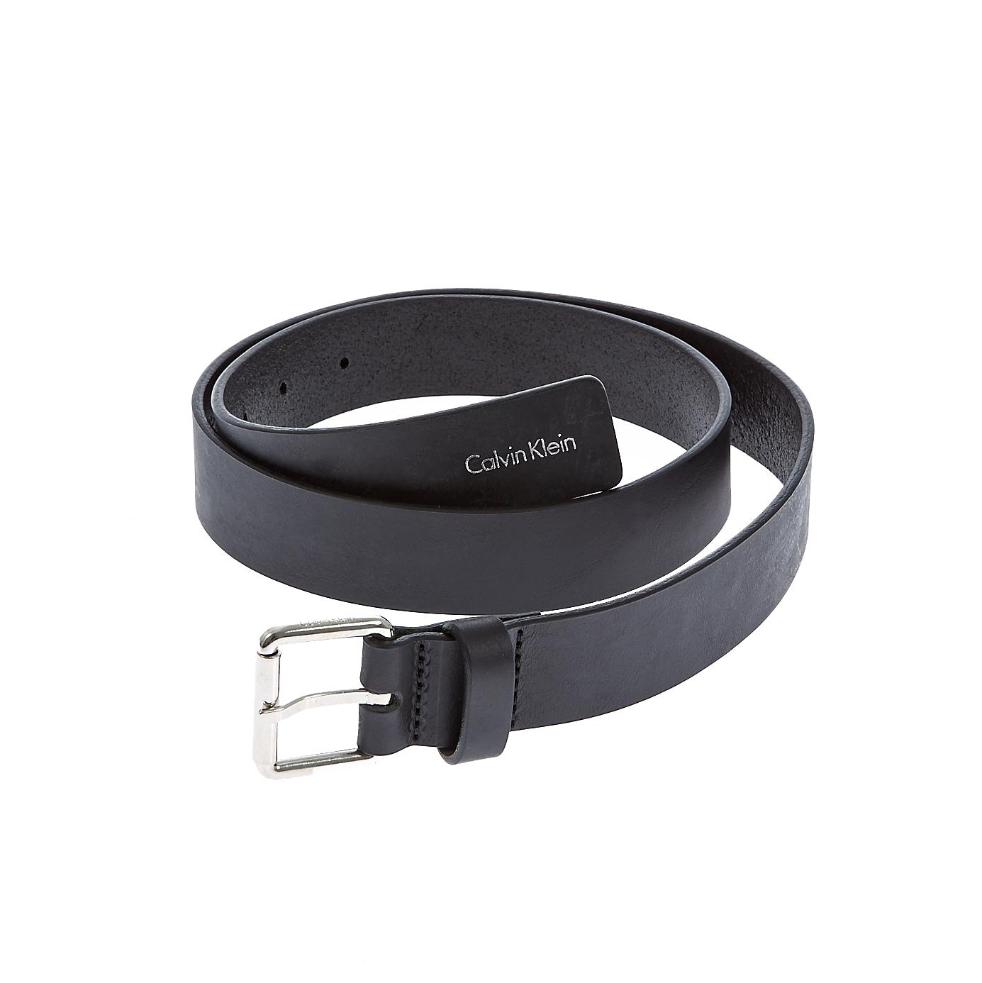 CALVIN KLEIN JEANS - Γυναικεία ζώνη Calvin Klein Jeans μαύρη