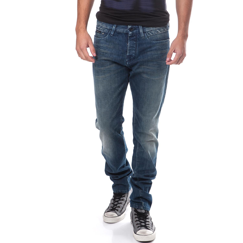 CALVIN KLEIN JEANS - Ανδρικό τζιν παντελόνι Calvin Klein Jeans μπλε ανδρικά ρούχα παντελόνια jean