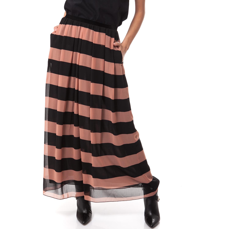 MAISON SCOTCH - Γυναικεία φούστα Maison Scotch σομών-μαύρη γυναικεία ρούχα φούστες μάξι