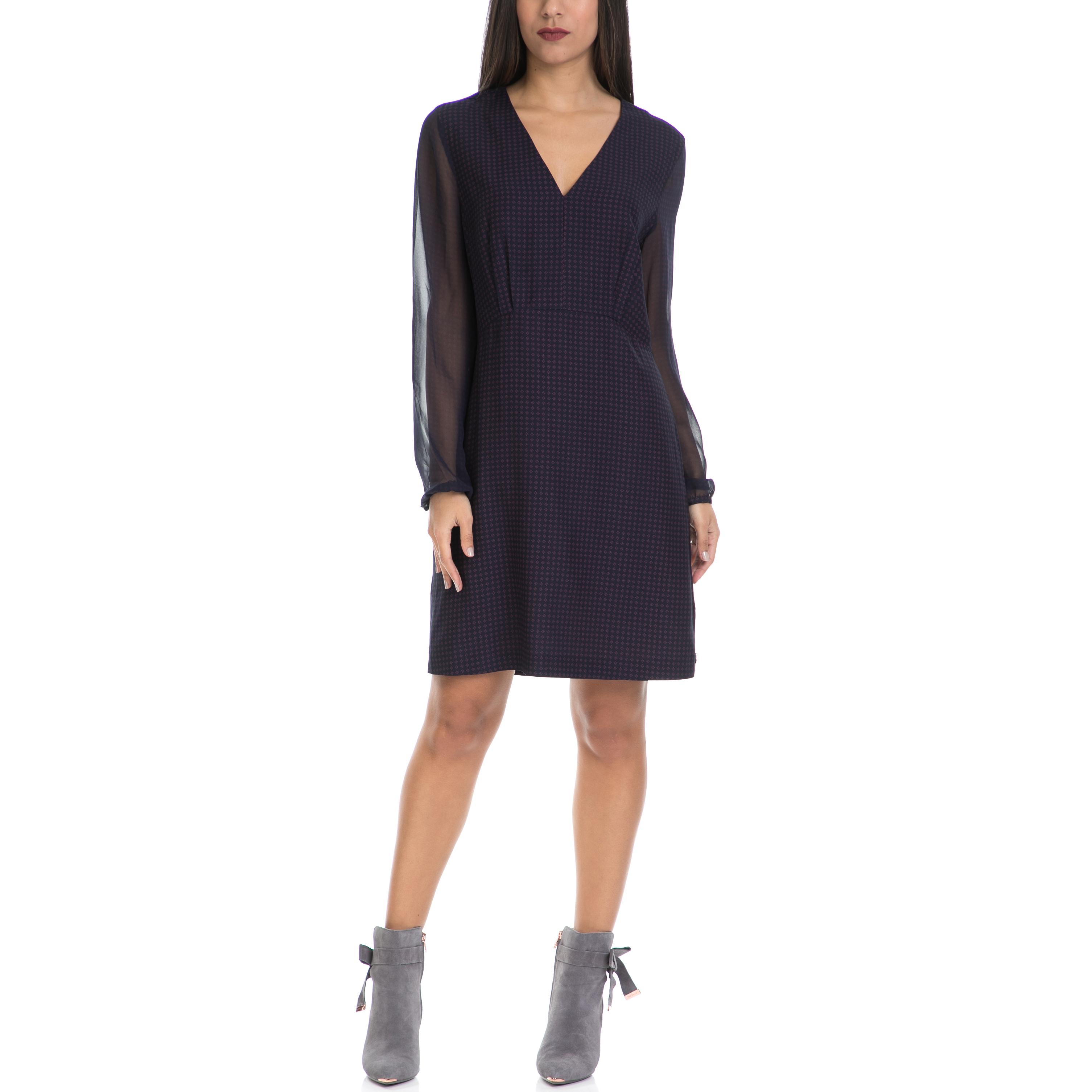 MAISON SCOTCH - Γυναικείο φόρεμα MAISON SCOTCH μπλε γυναικεία ρούχα φορέματα μίνι
