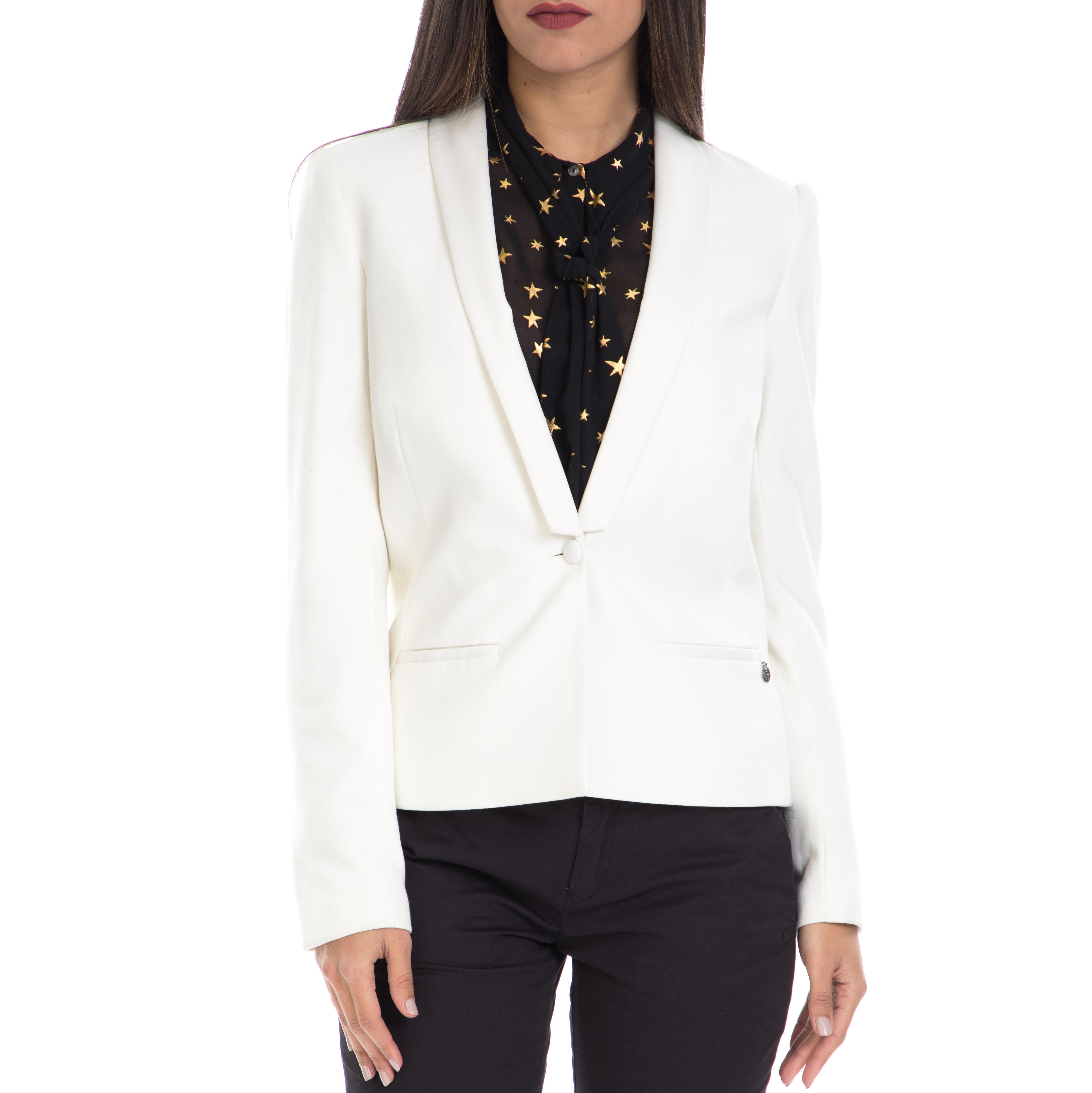 MAISON SCOTCH – Γυναικείο σακάκι MAISON SCOTCH λευκό