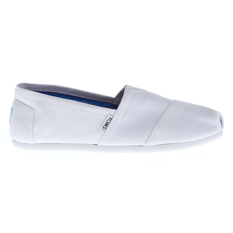 TOMS - Ανδρικές εσπαντρίγιες TOMS λευκές ανδρικά παπούτσια εσπαντρίγιες