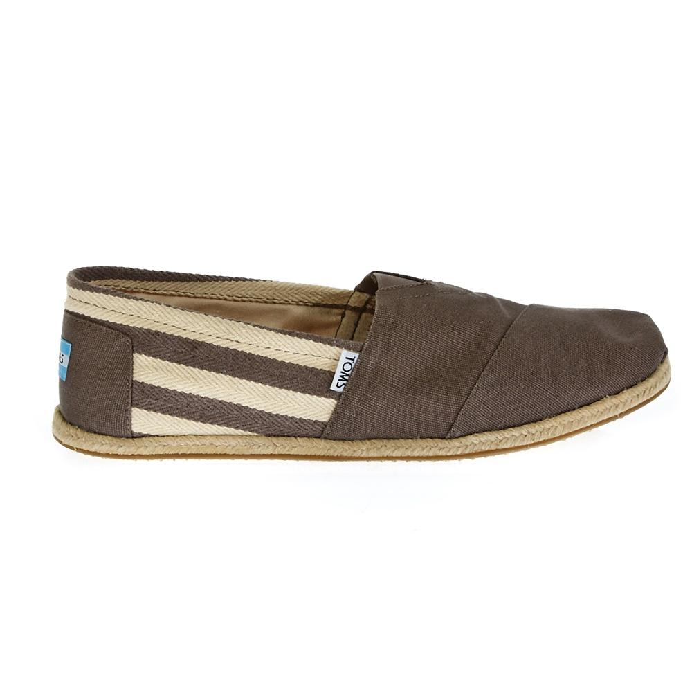 TOMS - Ανδρικές εσπαντρίγιες TOMS γκρι ανδρικά παπούτσια εσπαντρίγιες