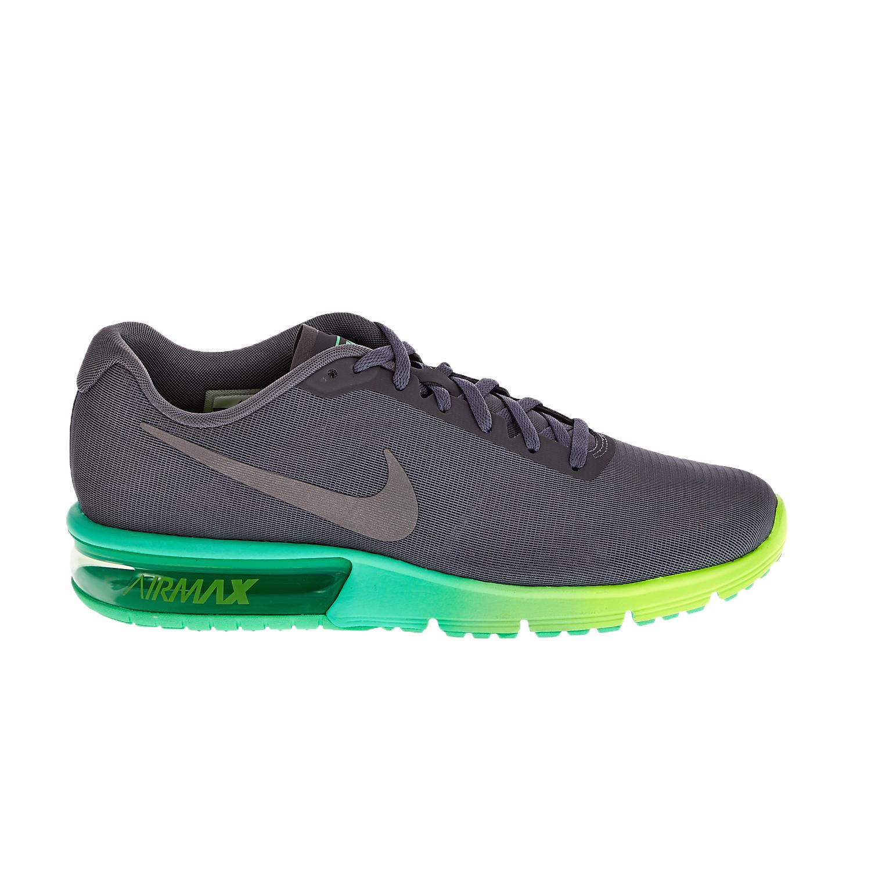 6b75192c847 NIKE – Γυναικεία αθλητικά παπούτσια NIKE AIR MAX SEQUENT γκρι-πράσινο. Factory  Outlet