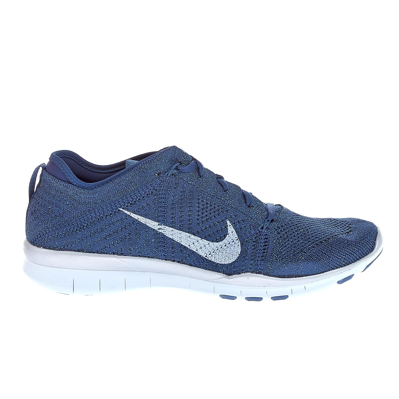 NIKE - Γυναικεία παπούτσια NIKE FREE TR FLYKNIT MTLC μπλε γυναικεία παπούτσια αθλητικά training