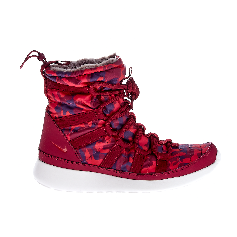 NIKE - Γυναικεία παπούτσια NIKE ROSHE ONE HI PRNT μπορντώ