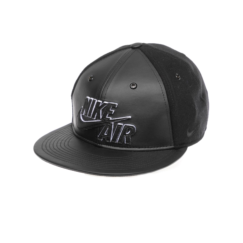 NIKE – Καπέλο NIKE AIR WOOL & LEATHER TRUE μαύρο