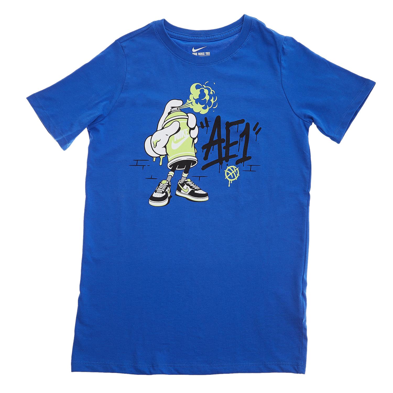 NIKE – Παιδική μπλούζα Nike μπλε