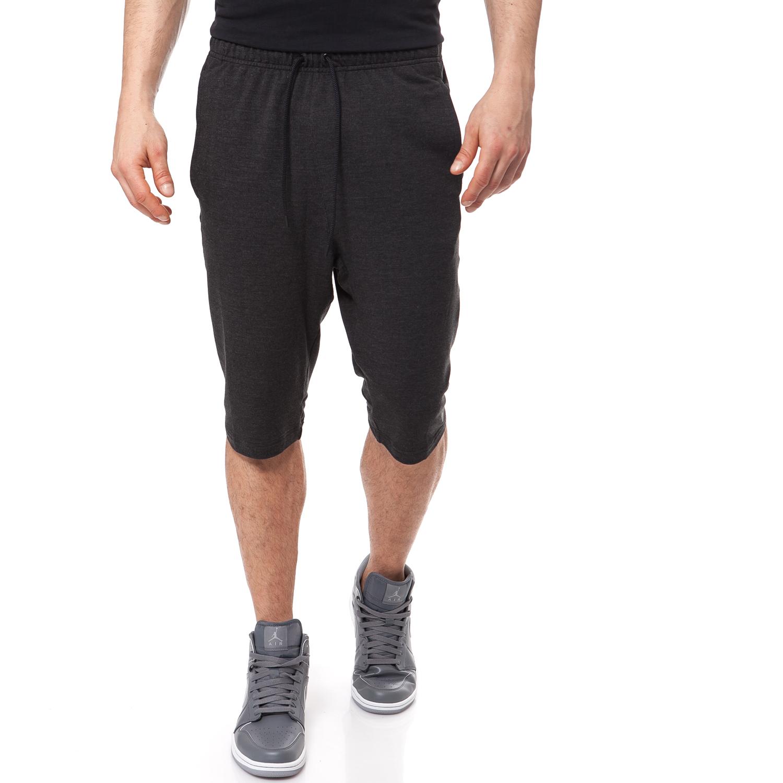 NIKE - Αντρική βερμούδα NIKE μαύρη-γκρι ανδρικά ρούχα σορτς βερμούδες αθλητικά