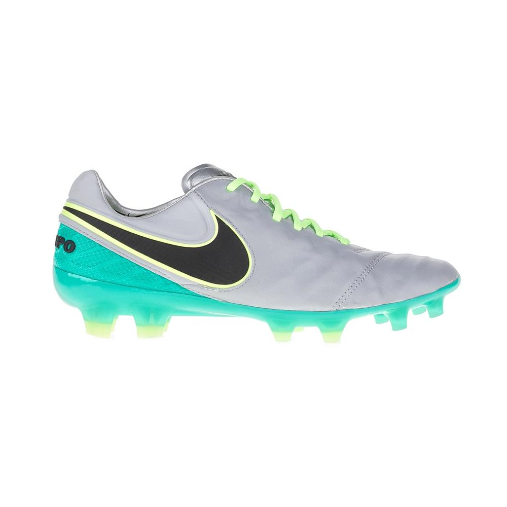 NIKE – Ανδρικά ποδοσφαιρικά παπούτσια ΝΙΚΕ TIEMPO LEGEND VI FG λευκά-μπλε