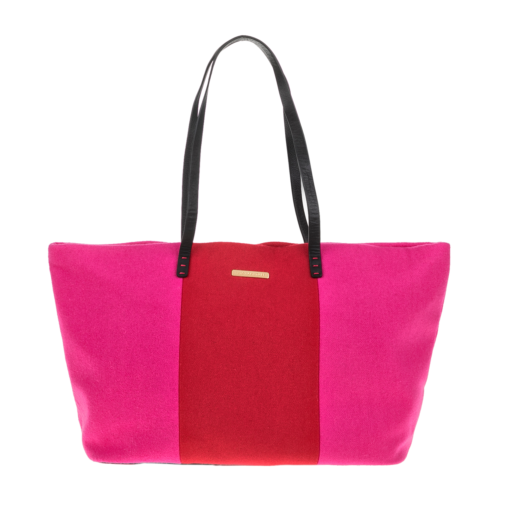JUICY COUTURE – Γυναικεία τσάντα JUICY COUTURE EXCLUSIVE MONOGRAM ροζ-κόκκινη 1427951.0-F145