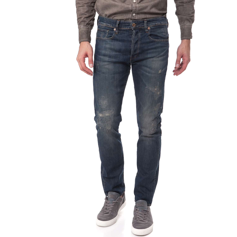 G-STAR RAW - Ανδρικό τζιν παντελόνι G-Star Raw 3301 ανδρικά ρούχα παντελόνια jean