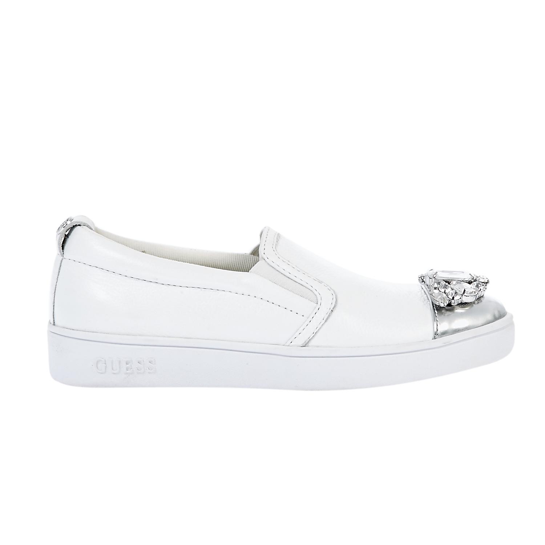 64a2b99285 GUESS - Γυναικεία παπούτσια Guess λευκά