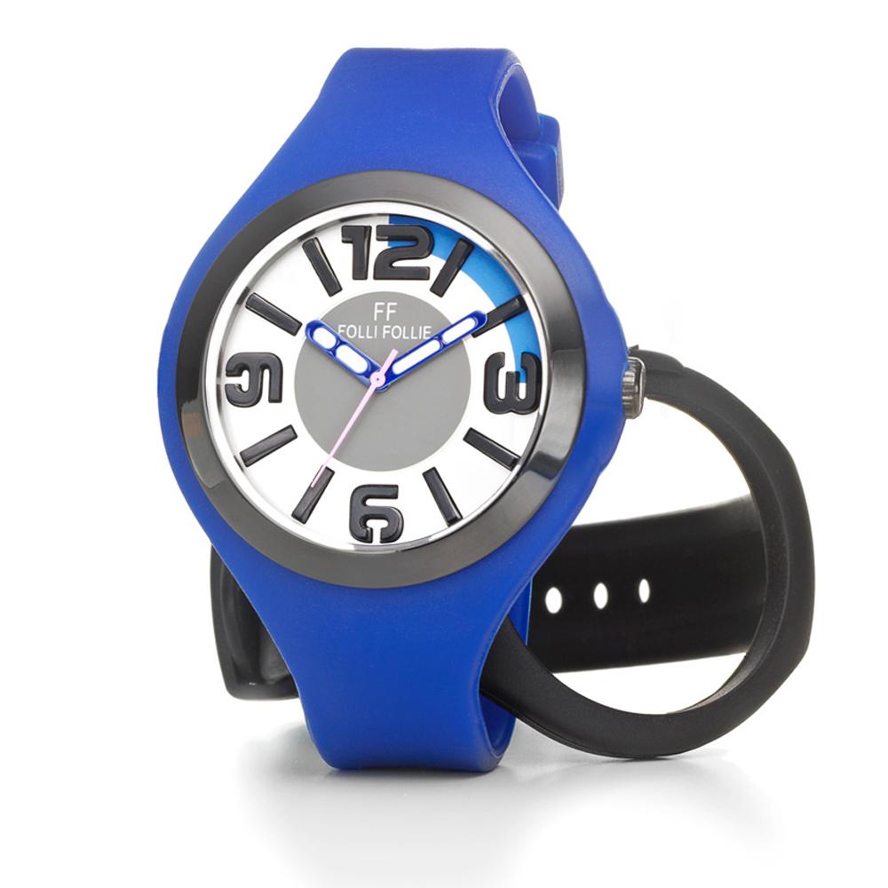 FOLLI FOLLIE – Γυναικείο ρολόι Folli Follie μπλε-μαύρο