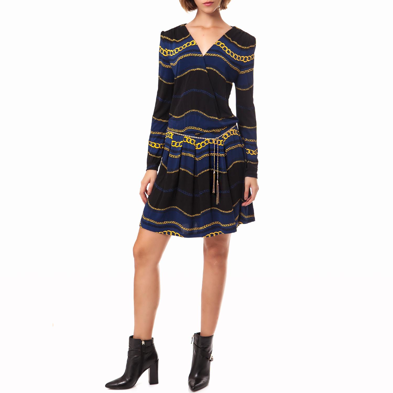 JUICY COUTURE - Γυναικείο φόρεμα Juicy Couture μπλε γυναικεία ρούχα φορέματα μίνι