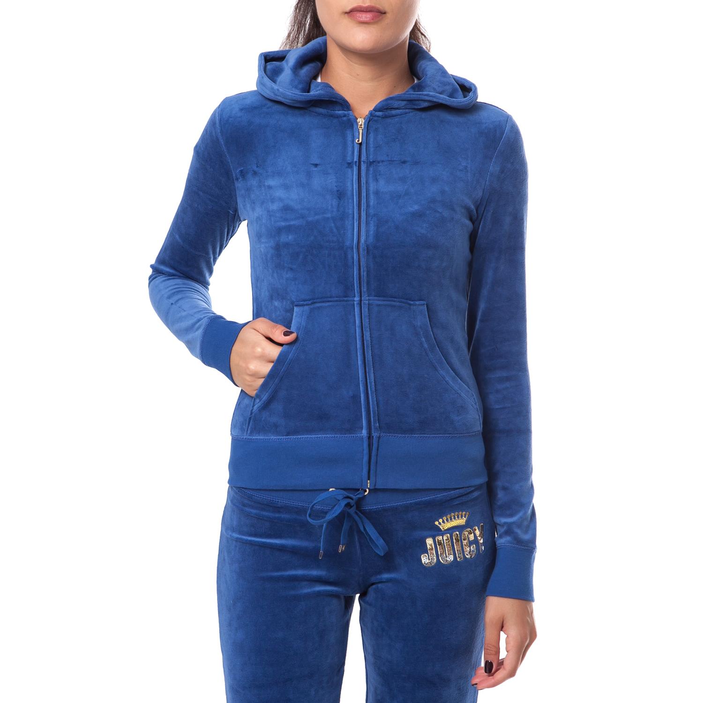 JUICY COUTURE - Γυναικεία ζακέτα Juicy Couture μπλε 2b8b6ecf9bb