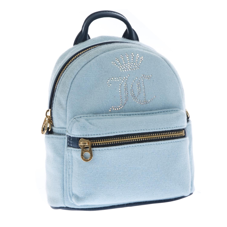 JUICY COUTURE – Γυναικεία τσάντα Juicy Couture σιέλ 1434610.0-0027