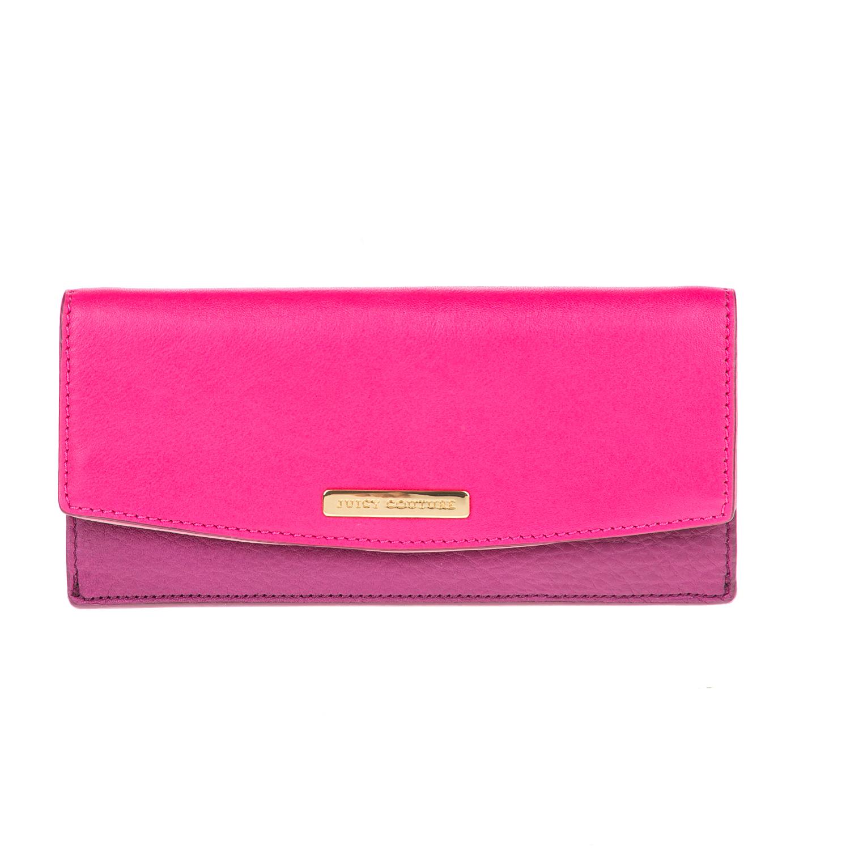JUICY COUTURE – Γυναικείο πορτοφόλι PREPPY JUICY COUTURΕ φούξια