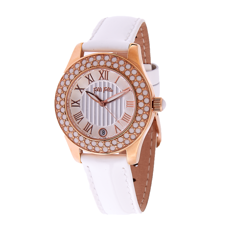 FOLLI FOLLIE – Γυναικείο ρολόι Folli Follie λευκό