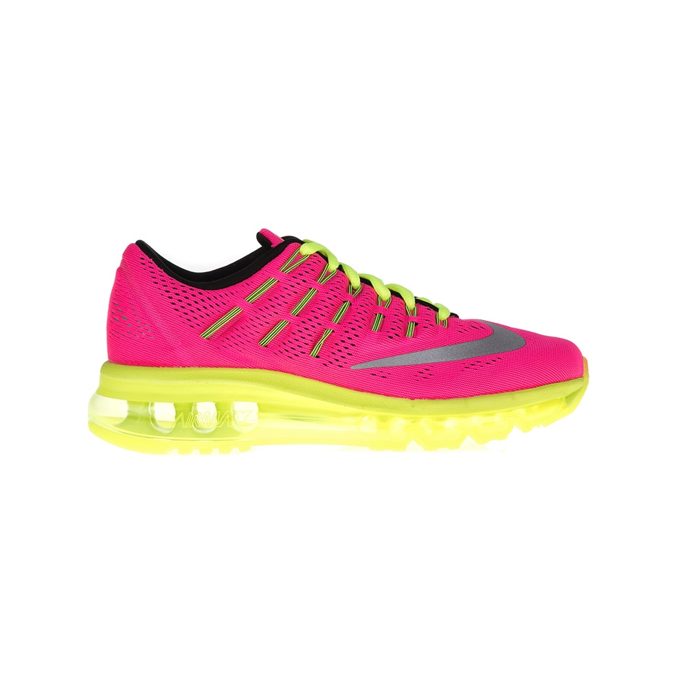 NIKE – Παιδικά παπούτσια NIKE AIR MAX 2016 ροζ-κίτρινα