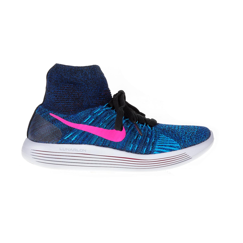 NIKE – Γυναικεία αθλητικά παπούτσια NIKE LUNAREPIC FLYKNIT μπλε-ροζ